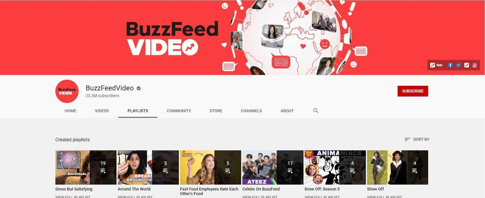 buzzfeed youtube influencers