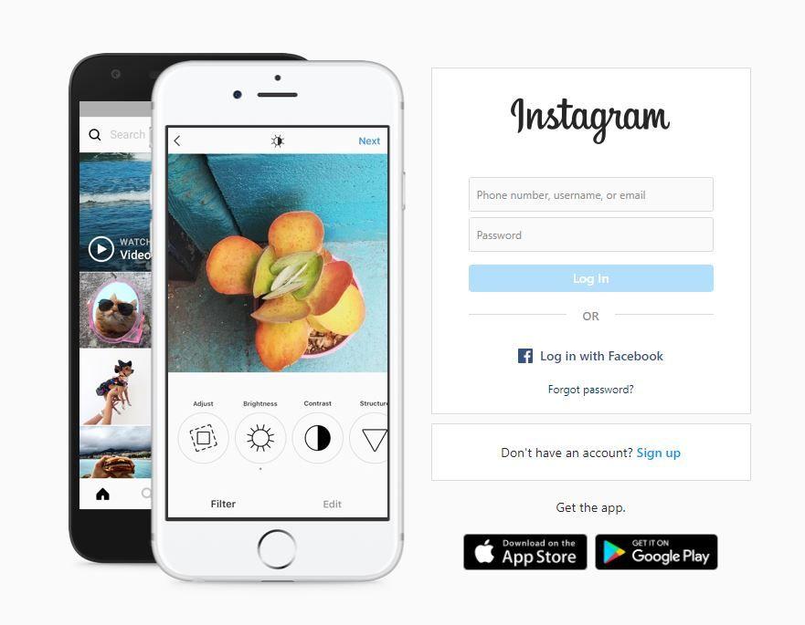 instagram profile set up