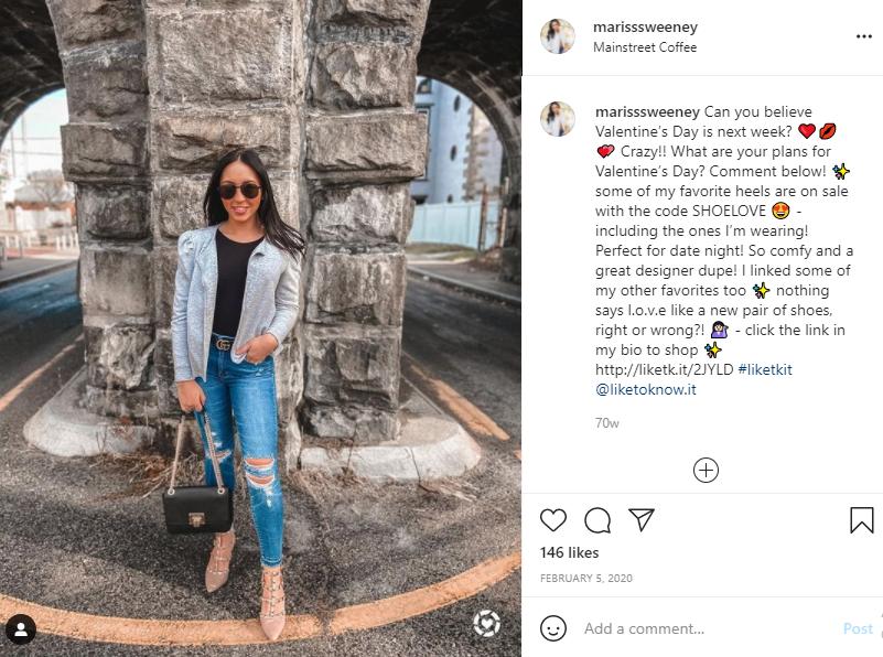 instagram affiliate influencer