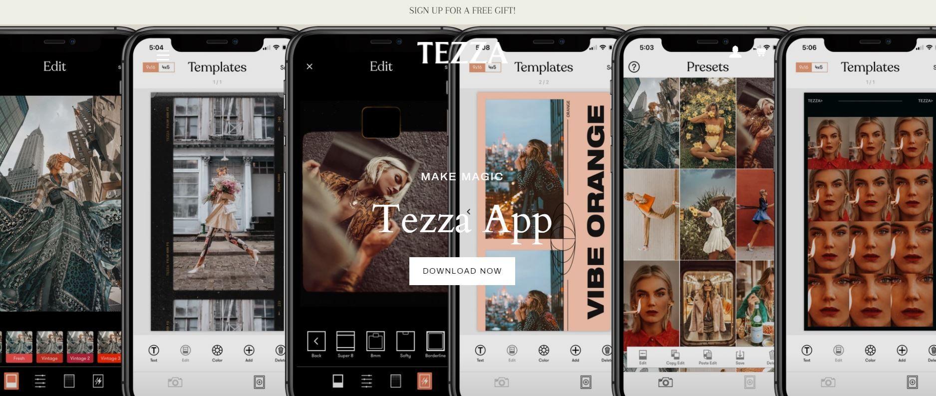 tezza app